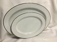 Lot Of 2 Pcs. Berkeley House Romance 6704 Vintage Fine China Serving Platter