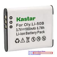 Kastar Replacement Battery for Olympus Li-50B LI-50C & Stylus 1030SW SZ-10