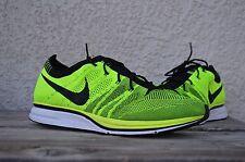 2012 Nike Flyknit Trainer Racer Volt Black Unpadded Olympics 532984-700 size 11