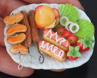 1:6 Dollhouse Miniatures Halloween Bread Display Dinner Food Deco Barbie Blythe