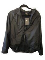 NEW with Tags Nike Women Windbreaker Jacket with Hood Zip-Up