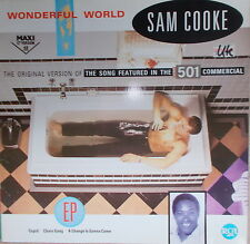 "12"" Maxi Sam Cooke ‎– Wonderful World ,VG+,cleaned, RCA ‎– PT 49872"