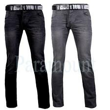 Crosshatch Cotton Regular Jeans for Men