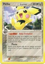 Pokemon PICHU  (DELTA SPECIES) - 76/-110 HOLON PHANTOMS ! MINT  99 CENTS !!