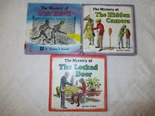 1977 1979 CarolRhoda Mystery Books Lost Beach Hidden Camera Locked Door Overlie