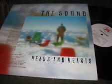 the Sound lp heads and hearts '85 statik original NM !!