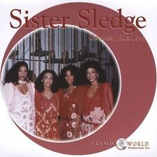 Music CD SISTER SLEDGE Greatest Hits Live Frankie We Are Family True Love NEW