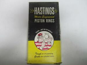 Piston Ring Set fits 66-74 Datsun B210 411 520 521 1200 1.3L E368X-STD
