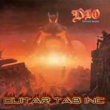 Dio Digital Guitar Tab THE LAST IN LINE Lessons on Disc Vivian Campbell