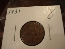 1931 - Canada 1 cent - Canadian penny -