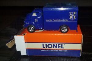 Eastwood Automobilia Lionel ERTL Parcel Delivery Service Truck,Die-cast 1:43 NIB