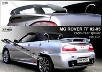 SPOILER REAR BOOT TRUNK TAILGATE for MG TF ROVER cabrio 2002-- WING ACCESSORIES