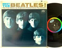 The Beatles Meet The Beatles USA 1964 Capitol T 2047 Mono LP Vinyl Record Album