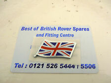 Genuine MG Rover BANDIERA UNION JACK IN SMALTO BADGE DAG000080 NUOVO