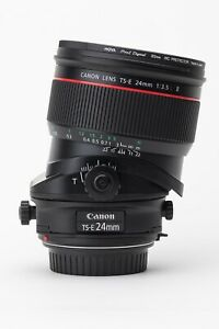 Canon TS-E 24mm f/3.5L II Tilt Shift - As New