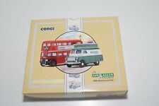 ^^^ 1:50 CORGI TOYS 96995 IAN ALLAN PUBLISHING 50TH ANNIVERSARY SET BEDFORD MIB