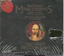 Beethoven: Missa Solemnis, Fantasia Corale / Colin Davis, Bayerischen Rundf. CD