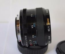 PENTAX K / PK Mount KIRON 28MM F2.8 MANUAL WIDE ANGLE PRIME LENS K1000 MX ME Etc