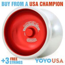 Duncan New Metal Drifter Yo-Yo YoYo 3574XP  - Red + FREE STRINGS