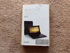 Zagg auto fit universal folio keyboard with bluetooth