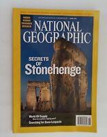 National Geographic Magazine June 2008 Secrets of Stonehenge &  Snow Leopards
