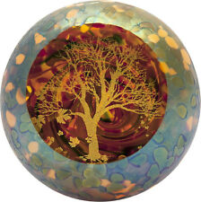 Autumn's Beauty Paperweight Glass Eye Studio Seasonal USA Made New 621