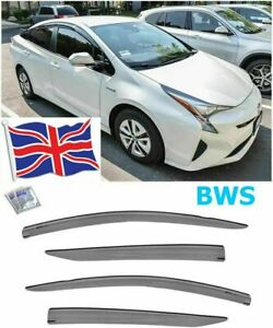 Toyota Prius 2016-2020 Premium Wind Visor Deflectors 4 pcs UK stock