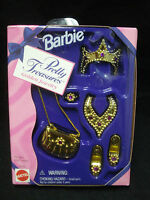 Vtg Barbie Disney Princess 90s Doll Acc PRETTY TREASURES Jewelry Set  1996 C