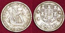 PORTUGAL 5 escudos 1967