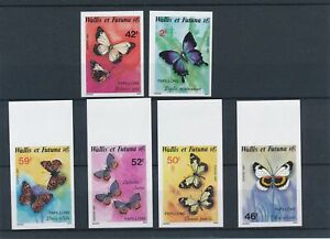 [336847] Wallis Fut 1987 butterflies good set very fine MNH imperf. Stamps