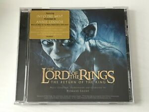 ORIGINAL MOVIE SOUNDTRACK CD LORD OF THE RINGS RETURN OF THE KING -HOWARD SHORE
