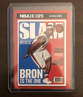 LeBron James 2020-21 NBA Hoops SLAM Cover Insert Remix Bron Is The One #2