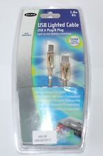 Belkin USB 2.0 Light Cable with Clear LED 1.8m - F3U144EA06-CLR