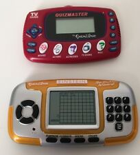 Einstein LCD Sudoku Wizard And TV Guide Quizmaster Electronic Handheld Games