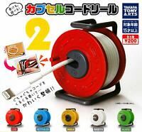 Capsule cord reel 2 All 5 set Gashapon mascot toys Complete set