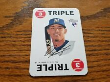 2017 TOPPS HERITAGE BASEBALL #3 ORLANDO ARCIA ROOKIE RED BACK GAME CARD