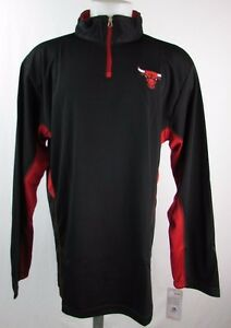 Chicago Bulls NBA Men's Big & Tall 1/4-Zip Pullover Track Jacket