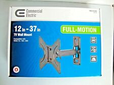 Commercial Electric Full Motion TV Wall Mount for 12 in. - 37 in. TVs