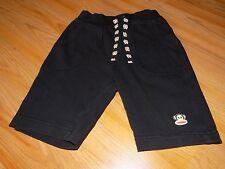 Toddler Size 5T Paul Frank Monkey Solid Black Lounge Shorts Knee Length EUC