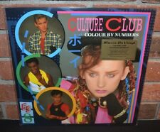 * CULTURE CLUB - Colour by Numbers, Limited Import 180G COLORED VINYL Foil #'d