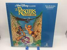 """The Rescuers Down Under"" Stereo Laserdisc LD - Walt Disney Classic"