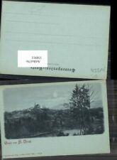 158911,Mond Litho Gruss von St Ulrich bei Steyr 1898 pub Prietzel