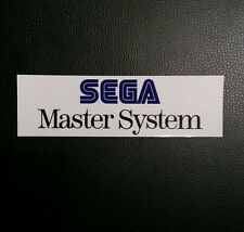Sega Master System Logo Sticker Decal