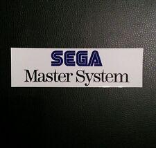 Sega Master System Logo Sticker Decal