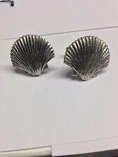 Sea Shell PP-G24   Cufflinks fine English pewter Cufflink