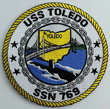 USS Toledo SSN 769 Submarine Patch