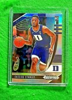 CASSIUS STANLEY SILVER PRIZM ROOKIE CARD JERSEY #2 DUKE RC PACERS 2020 PANINI RC