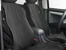 Isuzu D-Max Heavy Duty Seat Covers - Black (Front)