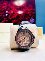 Michael Kors MK5879 Everest Black Rose Stainless-Steel Quartz Women's Watch