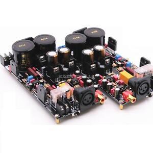 LM3886 Fully Balanced Power Amplifier Board Kit120W+120W HiFi Stereo 2-channel